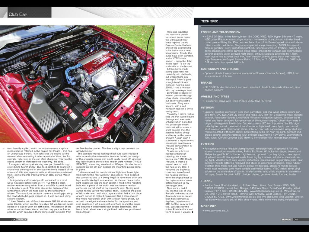My Car 1999 Honda Accord Vtec Engine